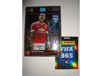 Panini Adrenalyn XL FIFA 365 - Limited Edition XXL - MEMPHIS DEPAY - Man United