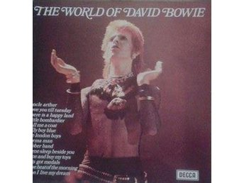 David Bowie titel* The World Of David Bowie* Rock, Folk Rock LP - Hägersten - David Bowie titel* The World Of David Bowie* Rock, Folk Rock LP - Hägersten