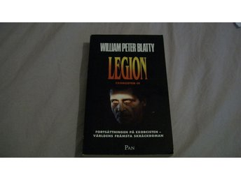 William Peter Blatty: Legion (Exorcisten 3). Pocketutgåva i fint skick.