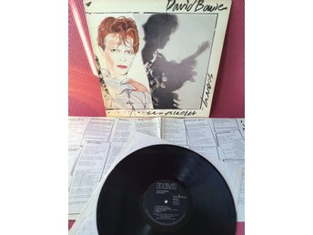 DAVID BOWIE - SCARY MONSTERS MED INSERT UK ORIGINAL EX