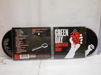 GREEN DAY - AMERICAN IDIOT - 2-CD