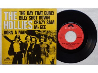 "HOLLIES 'The Day That Curly Billy Shot Down..' Belgian 7"" - Bröndby - HOLLIES 'The Day That Curly Billy Shot Down..' Belgian 7"" - Bröndby"