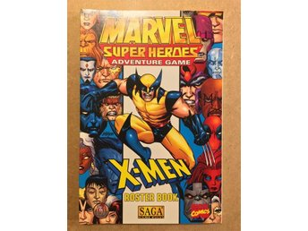 X-Men Roster Book (Marvel Super Heroes RPG)