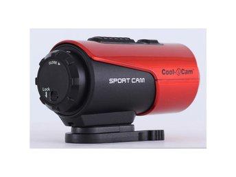 iON Cool-iCam actionkamera S3000 Röd - Höganäs - iON Cool-iCam actionkamera S3000 Röd - Höganäs