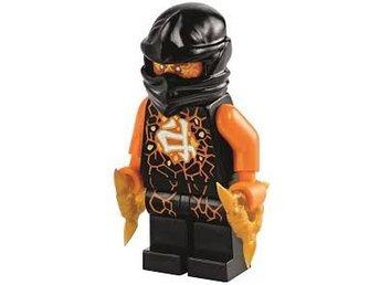 Lego - Figurer / Figur - Ninjago - Black Cole Flyer Airjitzu Ninja NJO2-13 - Uddevalla - Lego - Figurer / Figur - Ninjago - Black Cole Flyer Airjitzu Ninja NJO2-13 - Uddevalla