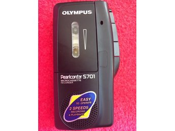 Olympus pearlcorder s701 Microcassette Recorder - inspelare