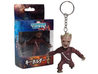 Marvel Guardians Galaxy Baby Groot Nyckel Ring Brun 7.5cm - Chonburi - Marvel Guardians Galaxy Baby Groot Nyckel Ring Brun 7.5cm - Chonburi
