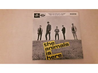The Animals - The Animals Is Here (Endast Omslag)