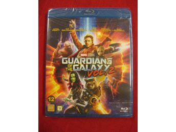 GUARDIANS OF THE GALAXY 2 - MARVEL - NY OCH INPLASTAD BLU-RAY
