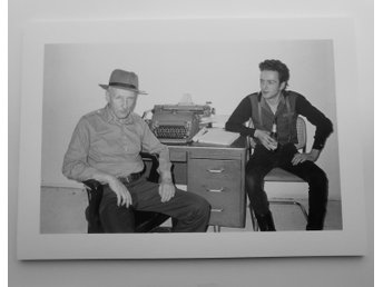 WILLIAM S. BURROUGHS + JOE STRUMMER (The Clash) - NYC, 1980