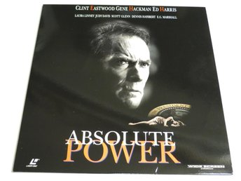 ABSOLUTE POWER (Laserdisc) Clint Eastwood