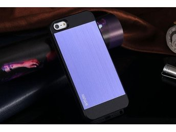 iPhone 5S / 5 Case Saturn - Metal Lila Black