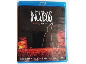 Incubus - Alive at Red Rocks (CD + BluRay) NY UTAN OMSLAGSPLAST)