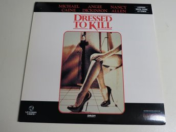 DRESSED TO KILL (Laserdisc) Michael Caine