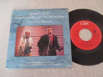 "Jimmy Cliff & Elvis Costello and The Attractions""Seven Day Weekend/Brightest Sta"