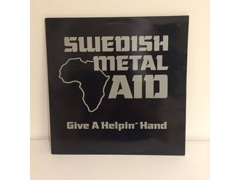 Swedish Metal Aid - Give a Helpin Hand   One sided Maxi