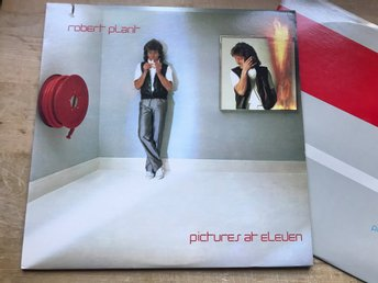 ROBERT PLANT / LED ZEPPELIN - PICTURES AT ELEVEN LP 1982