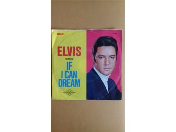 Elvis, If I Can Dream/Edge Of Reality