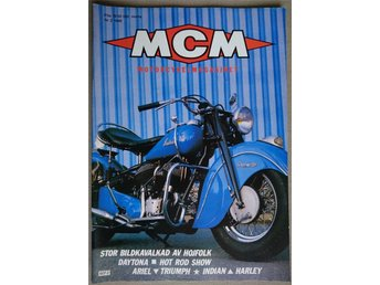 "MCM Nr.2 1986 med -47:a ""INDIAN CHIEF """