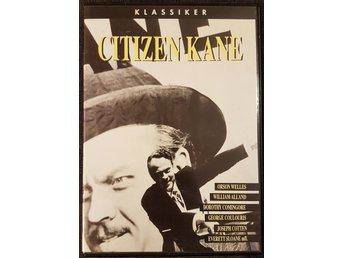Citizen kane - Orson Welles - Svensk dvd