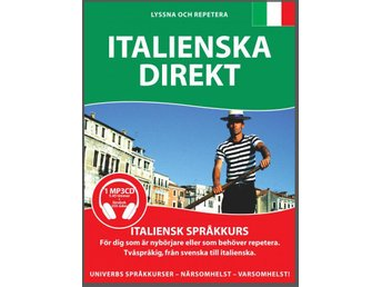 Italienska Direkt på MP3-CD
