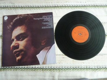 JOHNNY MATHIS, THE LONG AND WINDING ROAD, LP, LP-SKIVA