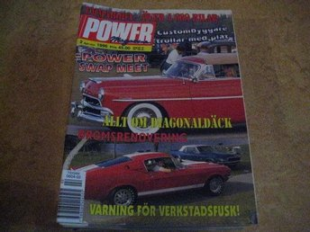 POWER NR 2 1996   PONTIAC BONNEVILLE CAB -65 ,M.M
