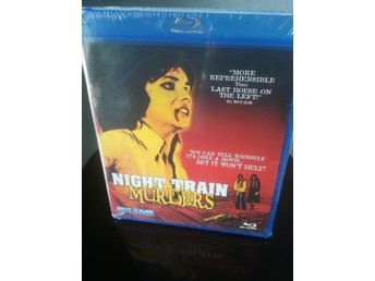 NIGHT TRAIN MURDERS 70-tals sleaze/gore! Blu-ray *Uncut* - Tumba - NIGHT TRAIN MURDERS 70-tals sleaze/gore! Blu-ray *Uncut* - Tumba