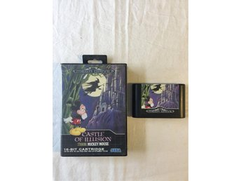 Tevespel - Megadrive - Castle of Illusion mickey mouse