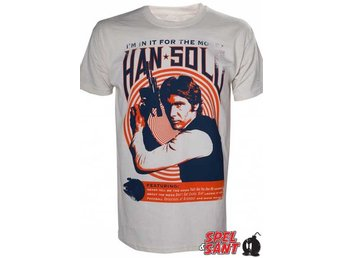 Star Wars Han Solo Vintage T-shirt Vit (X-Large)