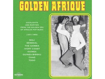 Golden Afrique (2Vinyl LP) Ord Pris 339 kr SALE