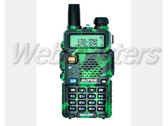 Baofeng UV-5R Jaktradio Komradio Radio Amatörradio Walkie Talkie