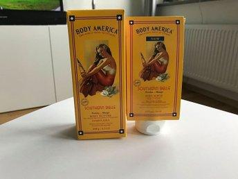 Body America - Body Butter och Body Scrub - Persika/Mango - NYA! - Borås - Body America - Body Butter och Body Scrub - Persika/Mango - NYA! - Borås