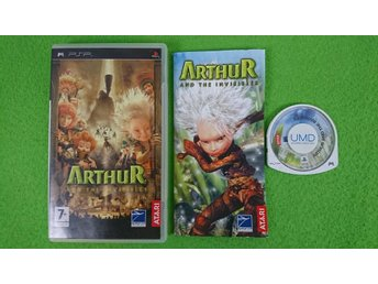 Arthur And the Invisibles KOMPLETT Psp Playstation Portable
