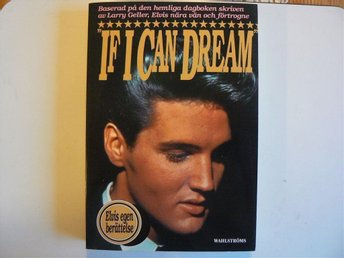 ELVIS PRESLEY   BOK   IF I CAN DREAM
