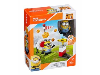 Mega Bloks Despicable Me Minions Cheese Shootout