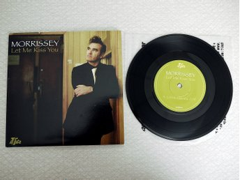 "Morrissey - Let Me Kiss You, 2004, Vinyl 7"" (NM)"