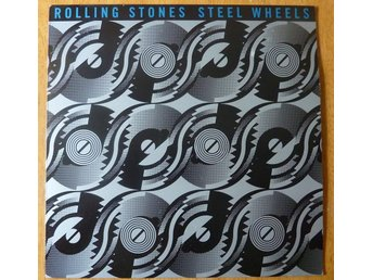 Rolling stones -- steel wheels.  LP.