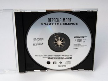 Depeche Mode: Enjoy the Silence US Promo CD, (PRO-CD-3976) 1990