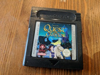 Quest for Camelot : Nintendo Gameboy Spel
