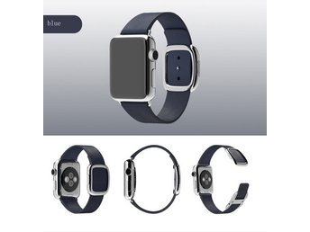 Modern Style Apple watch band 42mm blå