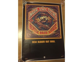 Imperial State Electric / poster / Reptile Brain Music-  Hellacopters
