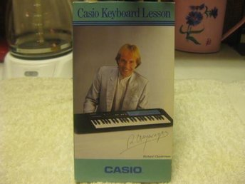 Casio keyboard lesson Richard Clayderman vhs instruktions video