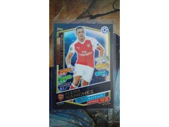 Match Attax Premier League 16/17 - Gold Limited Edition: Alexis Sanchez - Gislaved - Match Attax Premier League 16/17 - Gold Limited Edition: Alexis Sanchez - Gislaved