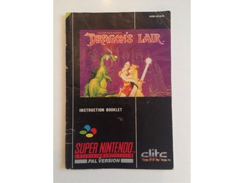 Dragon's lair manual scn