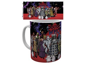 Doctor Who - Group - Mugg