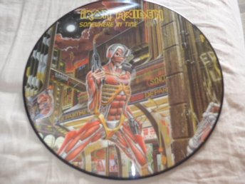 Iron Maiden - Somewhere in time - PIC DISC - Karlstad - Iron Maiden - Somewhere in time - PIC DISC - Karlstad