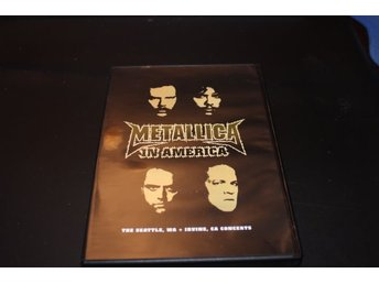 Dvd-film: Metallica in America