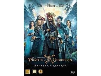 Pirates of the Caribbean 5 / Salazars revenge (DVD) Inplastad - Dala-järna - Hissa segel med Kapten Jack Sparrow (Johnny Depp) och följ med på det sista äventyret i Disney och producenten Jerry Bruckheimers spännande Pirates of the Caribbean: Salazar's Revenge. Kapten Salazar (Javier Bardem) och de dödliga spök - Dala-järna