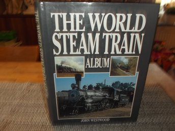 bok om Tåg, Ånglok The World Steam Train Album skriven på engelska